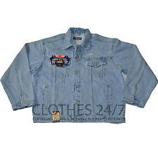 NEU mit Etikett Herren Jeans Jacken Freizeit Klassisch Mantel Baumwolle Größe