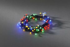 Christmas Decoration 80 Multi Colour Cherry LED In / Outdoor Fairy String Lights