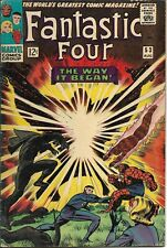 Fantastic Four#53 1966 2ND BLACK PANTHER APPEARANCE