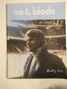 Ice & Blade Magazine 1972 Vol II, NO. 3 Midwinter Issue BOBBY ORR