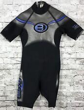 New listing Men's BARE Size M 2/2 mm Short Power Stretch Wet-suit Black & Metallic Gray