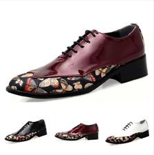 Men Dress Shoes Formal Leisure Lace-up Pointy Breathable Comfort Fashion Loafers