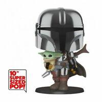 The Mandalorian with the child (25cm) - FUNKO POP! #380 - Figurine Star Wars