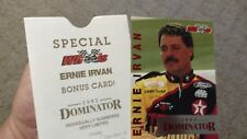 "ERNIE IRVAN 1993 WHEELS 4"" X 6"" BOXTOPPER BONUS CARD #1218/1750 MADE #D4"