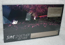 S.H.E SHE 2gether 4ever Live Concert Taiwan Ltd Blu-Ray(BD)+DVD+32P+Poster