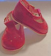NIP- dark pink color baby Mary Janes fit Bitty Baby doll