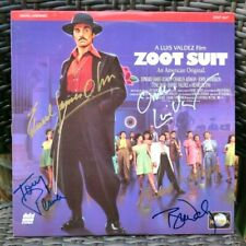 """The """"Zoot Suit"""" LD signed by E. Olmos, T. Daly, T. Plana, L. Valdez, & Rodriguez"""