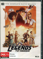 DC's Legends of Tomorrow Complete Fifth Season 5 DVD NEW Region 4