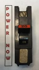 Federal Pacific FPE Stab-Lok Breaker 1 Pole 20 Amp 120V Thick - Ships Today