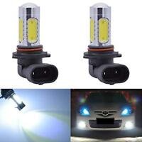 9006 HB4 6000K White LED Fog Light Bulbs X2 Xenon HID 2YR Warranty