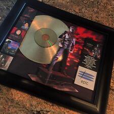 Michael Jackson History Gold Disc Record Album Music Award MTV Grammy RIAA