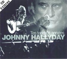 """CD  """"Johnny Hallyday"""" Tes tendres années"""