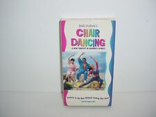 Chair Dancing New Concept VHS Video Tape