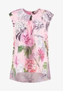 Ted Baker Rebet Palace Gardens drop hem blouse BNWT (RRP £109) Free UK P&P