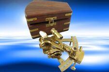 Sextant groß Holzbox Nautika Maritimes Geschenk Technik & Instrumente Sextanten