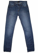 ASOS low rise buttonfly slim straight denim jeans 30x34 EUC!