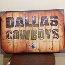 """DALLAS COWBOYS NFL """"TEAM PRIDE"""" CANVAS PRINT 32"""" x 21"""""""