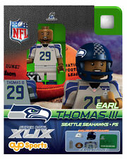 Earl Thomas OYO NFL 2015 NFC CHAMPS SUPER BOWL XLIX 49 SEATTLE SEAHAWKS NEW