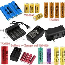3.7V 2300~12000mAh 18650/26650/16340/14500 Rechargeable Li-ion Battery for 3I