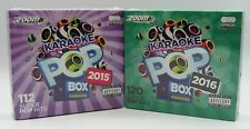 Zoom Karaoke Pop Box 2015 & 2016 Set - 12 CD+G Karaoke Discs inc. 232 Pop Tracks