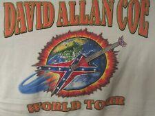 David Allan Coe World Tour Shirt (3xl)