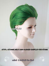 DC Batman Joker all back short Green cosplay wig