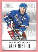 12/13 Panini Limited Silver Captains #181 Mark Messier #44/49