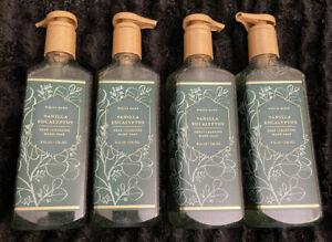 Lot Of 4 - Bath & Body Works / White Barn VANILLA EUCALYPTUS Deep Cleansing Soap