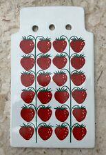 Vintage Arabia Finland Pomona Strawberry Cutting Board Trivet