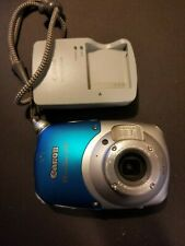 WORKING Canon PowerShot D10 12.1MP Waterproof Camera, Strap, Battery, & Charger