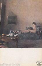# NUDI NELL'ARTE: QUADRO DI A. MIANI ALLA ESPOSIZ. SOC. BELLE ARTI - Milano 1916