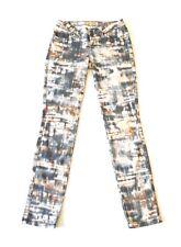 GUESS Womens Denim Jeans Britney Skinny Ankle Slim Fit Stretch Tie-dye Waist 24