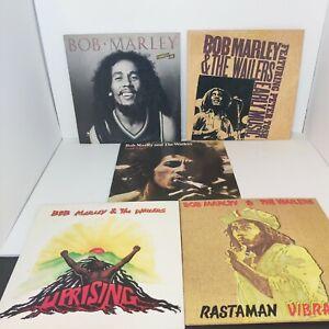 Bob Marley Vinyl Lot Uprising Rastaman vibrations Bob Marley and the wailers
