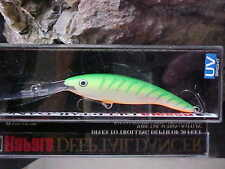 Rapala Deep Tail Dancer TDD09 GTU in (GREEN TIGER UV) Walleye/Bass/Pike/Zander