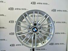 """4 CERCHI IN LEGA ORIGINALI BMW SERIE 1 DA 17"""" DIFFERENZIATI 5X120 CB 72,6"""