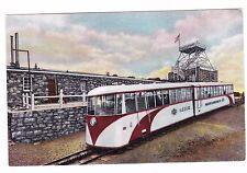 Cog Train-Summit House-Pikes Peak- Postcard