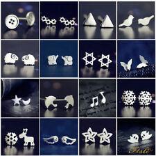New Fashion Women 925 Sterling Silver Earrings Ear stud Cute Jewellery Gift's
