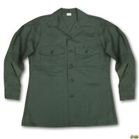 USAF Air Force Rare Vietnam Era Military Durable Press 15.5 X 33 Utility Shirt