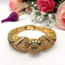 Indian Asian Size:2.6 Bridal Pakistani Jewellery Openable Polki Bangle/Bracelet