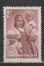 NVPH Netherlands Nederland nr 495 ong MLH Kinderzegels 1947 Pays Bas