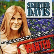 Skeeter Davis - Wanted - Skeeter Davis CD CCLN The Cheap Fast Free Post The