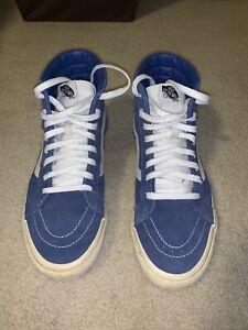 Vans sk8 Hi High Top Skate Shoe Size 11 - Blue