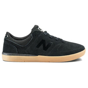 New Balance Numeric 533 BKT Black Gum Mens Suede Skateboard Shoes