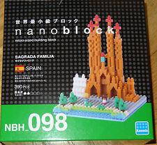 Nanoblock Sagrada Familia Construction toy Micro Blocks Nano Block NBH098
