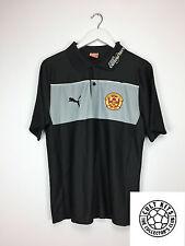MOTHERWELL 10/11 Polo Shirt (M) Soccer Jersey Training Top Puma