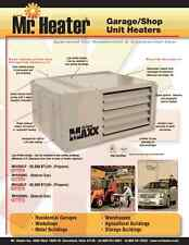 Mr.Heater MHU50 50.000BTU Garage Heater - lp conversion kit included - PRE ORDER