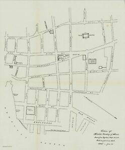 "Rare 1900 Map ""Portion of Honolulu"" Hawaii (Original)"
