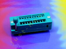 Point socle 20 broches DIP 20 socket IC, MCU; 0,3 pouces; 7,62 MM; #a408