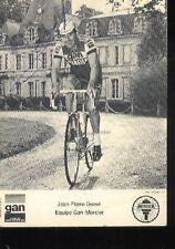 JEAN-PIERRE GENET GAN MERCIER cyclisme carte signée