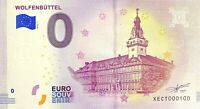 BILLET 0  EURO WOLFENBUTTEL  ALLEMAGNE 2018  NUMERO 100